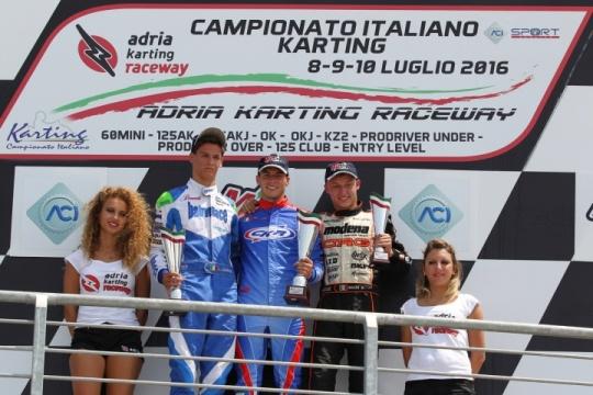 Ad Adria un weekend di grandi gare nella terza prova del Campionato Italiano ACI Karting