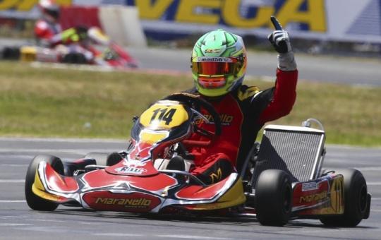 Spettacolari finali a Sarno per la seconda prova del Campionato Italiano ACI Karting