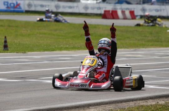 A Sarno Forè ritrova la vittoria nel Campionato Italiano ACI Karting