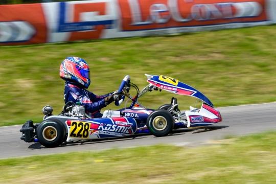 Kosmic Kart allo sprint finale dell'Europeo