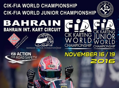 CIK-FIA World Championship & Junior World Championship a Sakir (BRN)