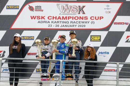 WSK Champions Cup – Barnard, Spina e Khavalkin aprono la stagione