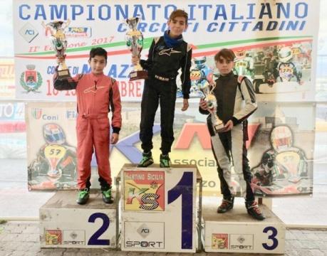 Milazzo ha aperto il Campionato Italiano Karting Circuiti Cittadini