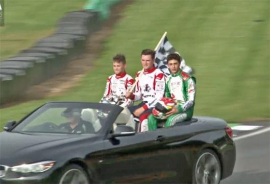 Danny Keirle, Campione del mondo karting