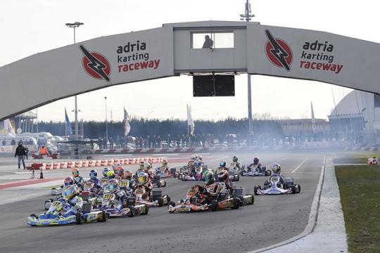 250 iscritti alla WSK Champions Cup ad Adria