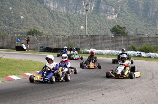 A Rioveggio il 7°  Historic Master Go Kart