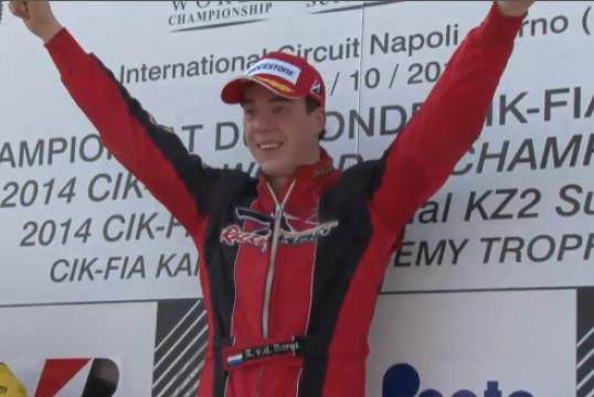 Van Der Burgt (DR/Tm) è il campione internazionale della KZ2