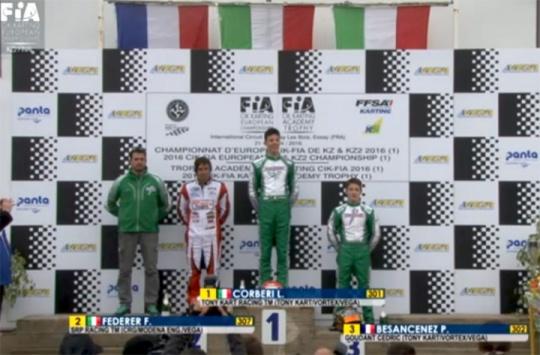 Corberi domina la KZ2