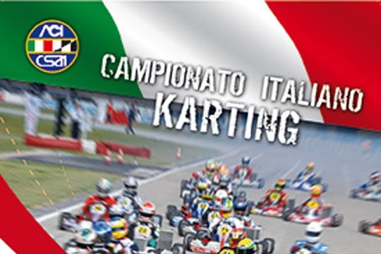 A Castelletto il 25-27 ottobre l'atto finale del Campionato Italiano CSAI Karting