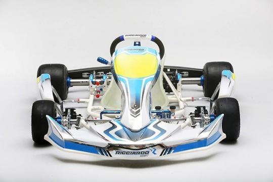 Al circuito di Siena il 17 e 18 Gennaio test aperto a tutti con i nuovi telai Ricciardo Kart