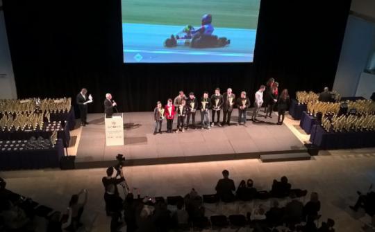 Premiazione ACI Sport del Trofeo Nazionale, Coppa Italia, Challenge e Campionati Regionali 2016