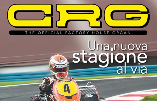 CRG presenta il Factory Official House Organ