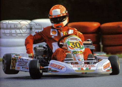 Il Tony Kart di Schumacher