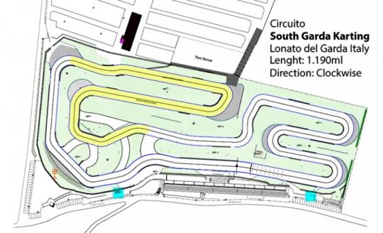 Ecco la nuova pista del circuito South Garda Karting a Lonato
