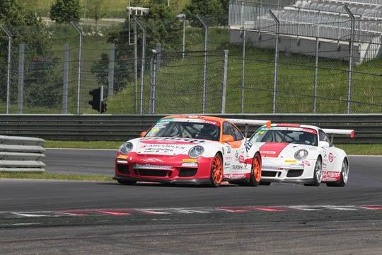 Targa Tricolore PORSCHE: Glauco Solieri e Walter Palazzo i vincitori del Red Bull Ring con la benzina Magigas 104 Trofeo