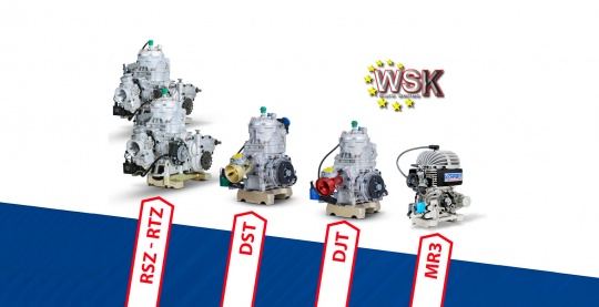 Vortex Campione KZ2 della Euro Series