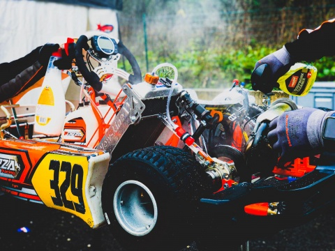 WSK Open Cup rd.2 - Manches