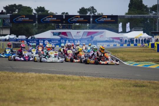 Campionato europero CIK-FIA, Le Mans - Risultati del sabato