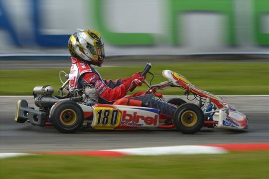 Il pilota brasiliano Birel Motorsport ha disputato un ottimo weekend a Sarno portando in gara evoluzioni tecniche in vista del 2014