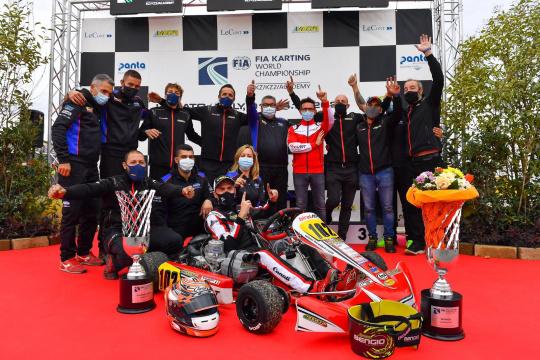 Modena Kart, una stagione da incorniciare