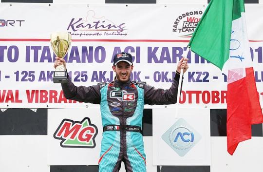 Tutti i vincitori del Campionato Italiano ACI Karting, Trofeo Nazionale e Coppa Italia 2016