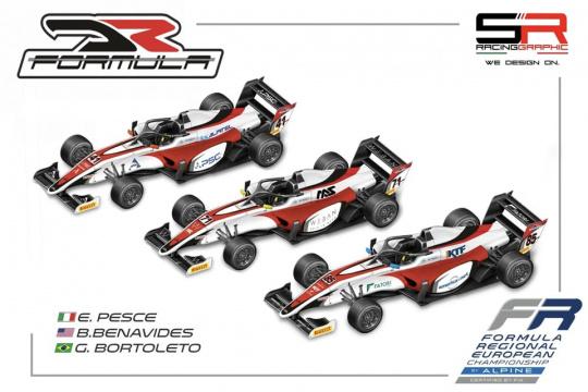 Emidio Pesce, volto italiano per la DR Formula in Formula Regional