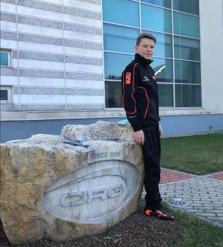 Maksymilian Obst si unisce a CRG in OK Junior