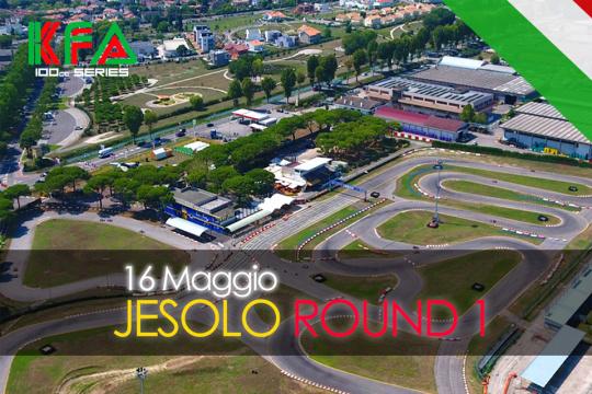 La stagione KFA 100cc Series prende il via a Jesolo