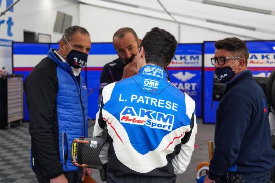 Assaggio di F4 per Lorenzo Patrese
