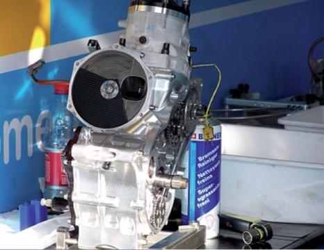 A ruota libera sul motore a 2T