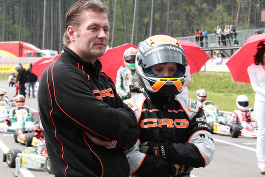 Jos Verstappen e i bei tempi con Paul Lemmens