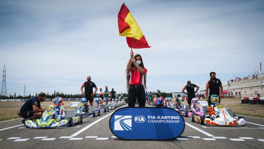 Niente Brasile, il Mondiale FIA OK/OKJ si correrà in Spagna