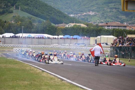 Campionato Italiano ACI Karting – Spettacolo KZN a Val Vibrata