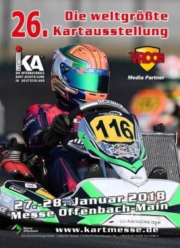 Esibizione Internazionale Karting - IKA Kart 2000, Kartmesse Offenbach 2018