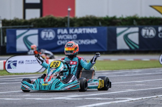 FIA Karting World Championship, Lonato – Iglesias è Campione del Mondo, Cunati vince l'International Super Cup