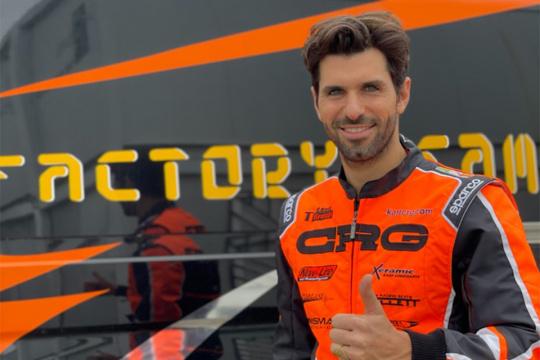 Jaime Alguersuari torna in kart con CRG