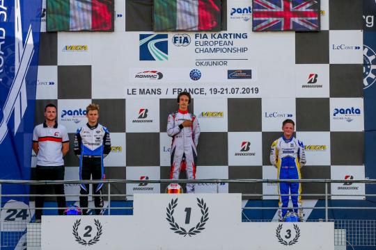 FIA Euro, Le Mans – Minì e Antonelli vincono le gare, Amand e Travisanutto sono Campioni!