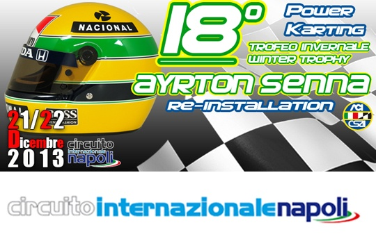 "Recupero data 18° Trofeo Invernale ""Ayrton Senna"""