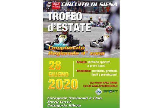 In Toscana il karting riparte con il Campionato Regionale al Circuito di Siena