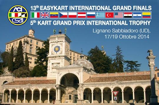 13ª FINALE INTERNAZIONALE EASYKART E KART GRAND PRIX LIGNANO SABBIADORO (UD), 17-19 OTTOBRE 2014