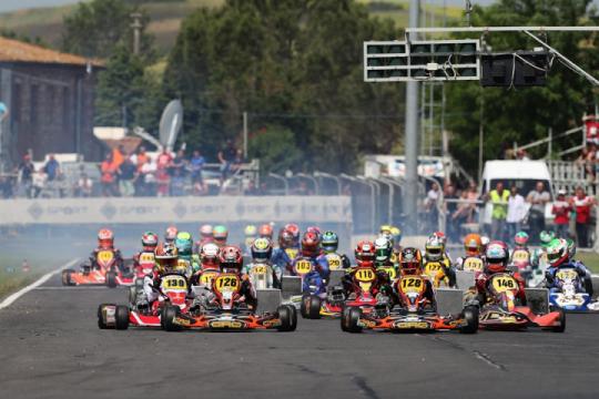Grande agonismo nella seconda prova del Campionato Italiano ACI Karting
