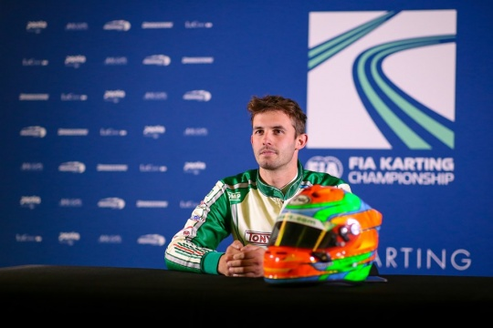 Matteo Viganò saluta la Tony Kart
