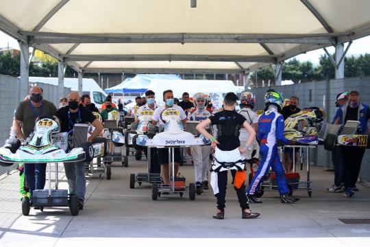 Boom di iscritti a Val Vibrata: oltre 260 piloti per il terzo round del Campionato Italiano ACI Karting