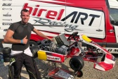 Thonon con Birel ART KSW a Genk, i retroscena.