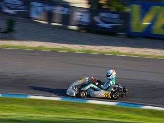 Tony Kart sul podio mondiale.