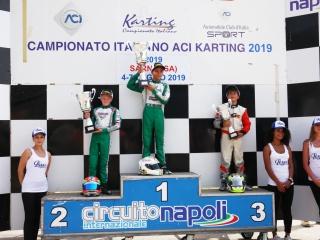 "ACI Karting - Italiano kart ""infuocato"" a Sarno."