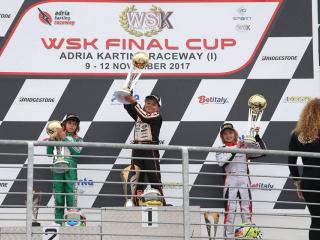 CRG con Spina e Gamoto trionfano nella WSK Final Cup