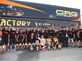 CRG vince il Campionato Europeo  in KZ con Jorrit Pex.