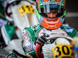 Matteo Viganò si prepara al meglio per la stagione KZ
