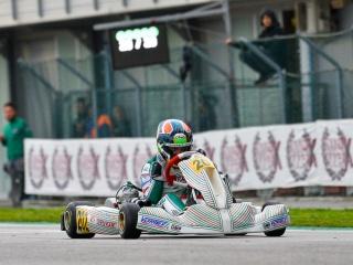 Hiltbrand guida un podio tutto Tony Kart.